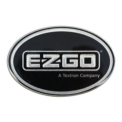 Picture of Name Plate Emblem, Platinum, E-Z-Go Workhorse, OEM 605434 or 74813G01