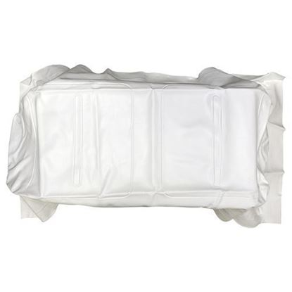 Picture of White Seat Bottom Cover fits E-Z-Go Medalist/TXT