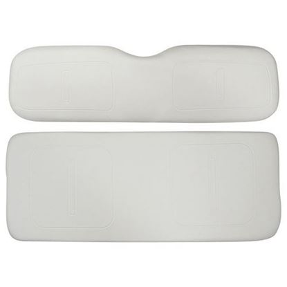 Picture of Cushion Set, White Vinyl, Universal Board, for E-Z-Go TXT