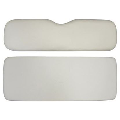 Picture of Cushion Set, Oyster Vinyl, Universal Board, for E-Z-Go RXV 600 Series Rear Seat Kits