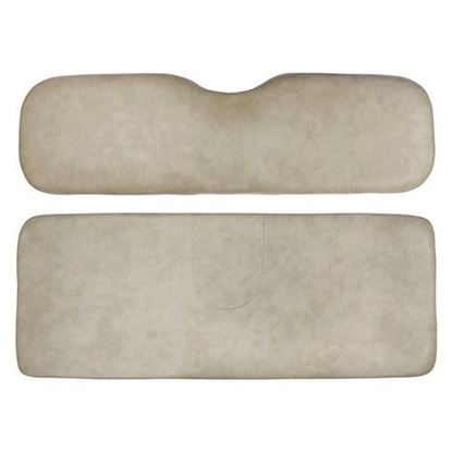 Picture of Cushion Set, Stone Beige Vinyl, Universal Board, for E-Z-Go RXV 600 Series Rear Seat Kits