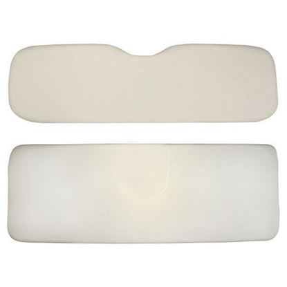 Picture of Cushion Set, Oyster Vinyl, Universal Board, for E-Z-Go RXV 700 & 800 Series Rear Seat Kits