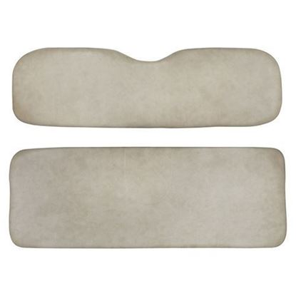 Picture of Cushion Set, Stone Beige Vinyl, Universal Board, for E-Z-Go RXV 700 & 800 Series Rear Seat Kits