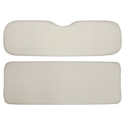 Picture of Cushion Set, Oyster Vinyl, Universal Board, for E-Z-Go TXT 800 Series Rear Seat Kits