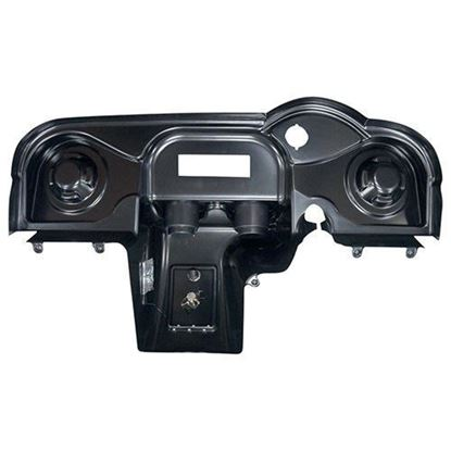 Picture of Paintable Deluxe Dash with Radio Cutout and Speaker Indentations for E-Z-Go RXV