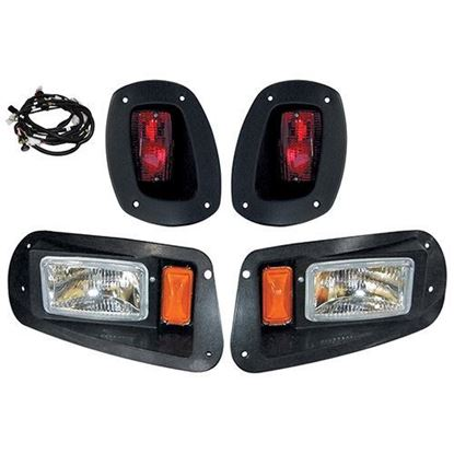 Picture of E-Z-Go RXV 2008-2015 Halogen Adjustable Light Kit with Plug & Play Harness