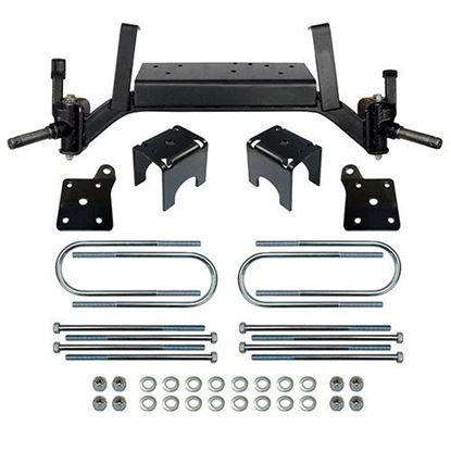 "Picture of E-Z-Go TXT Electric 2001.5-Up & Gas 2001.5-2008.5, RHOX 5"" Drop Axle Lift Kit"