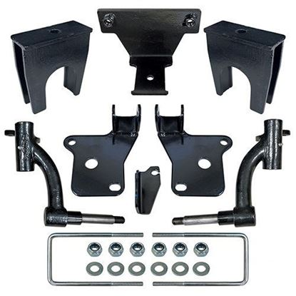 "Picture of E-Z-Go RXV Gas 2008-2013 RHOX 6"" Drop Spindle Lift Kit"