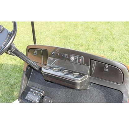 Picture of Carbon Fiber Dash Fits E-Z-Go Medalist/TXT 1994.5-2013