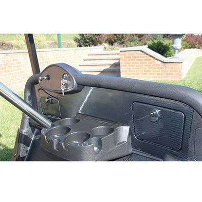 Picture of Carbon Fiber Dash Fits E-Z-Go RXV 08+