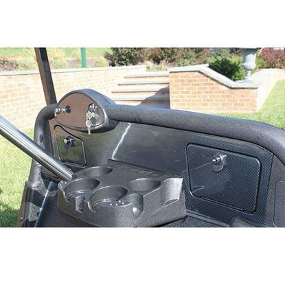Picture of Carbon Fiber Dash Fits E-Z-Go RXV 08+
