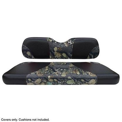 Picture of Seat Cover Set, Front, Sport Black/Camo for E-Z-Go TXT & RXV