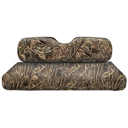 Picture of E-Z-Go TXT/RXV Camouflage Front Seat Cover Set - Realtree MAX-5