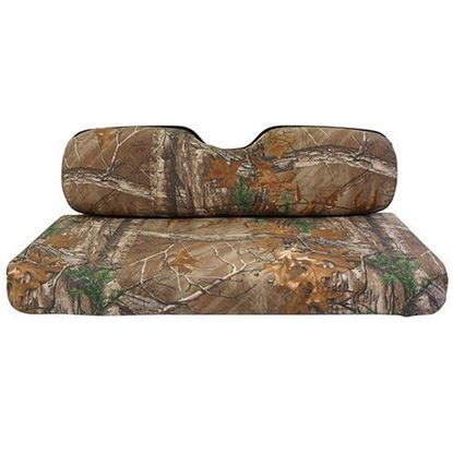 Picture of E-Z-Go TXT/RXV Camouflage Front Seat Cover Set - Realtree XTRA