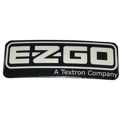 Picture of Name Plate Emblem, E-Z-Go RXV, OEM 606405