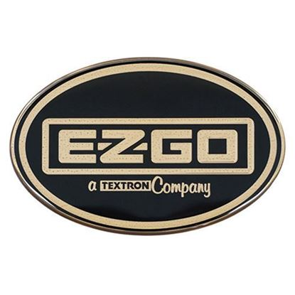 Picture of Name Plate Emblem, Gold, E-Z-Go Workhorse, OEM 71289G01