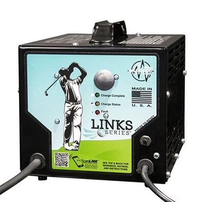 Picture of Battery Charger, Lester 36V/21A Link Series with Crowsfoot Plug