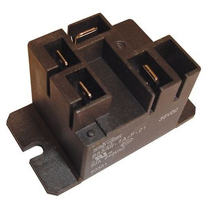 Picture of 36V Relay fits Club Car Lester Chargers 14100, 9700, 7710