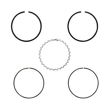 Picture of Piston Ring Set, .50mm Oversized, E-Z-Go 4-cycle Gas 91+ 295cc Only MCI