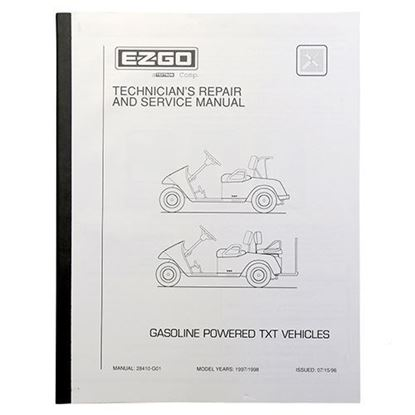Picture of Service Manual, E-Z-Go TXT Gas 1997-1998