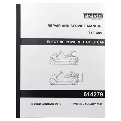 Picture of Service Manual, E-Z-Go TXT Electric 48V