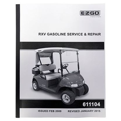Picture of Service Manual, E-Z-Go RXV Gas