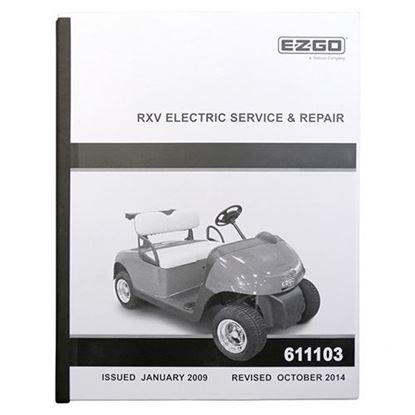 Picture of Service Manual, E-Z-Go RXV Electric