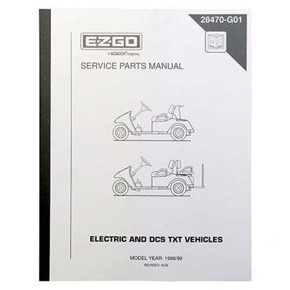 Picture of Service Manual, E-Z-Go DCS Electric 1998-1999