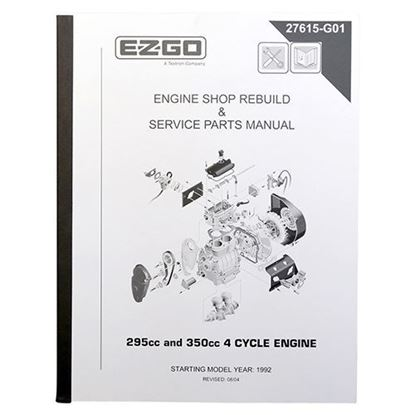 Picture of Maintenance Manual, E-Z-Go 4-cycle 295cc and 350cc Engine