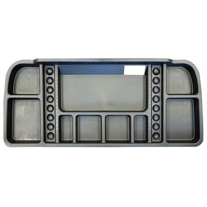 Picture of Under Seat Storage Tray, Black, Yamaha G29/Drive, (4x 12V Batteries) Electric Only