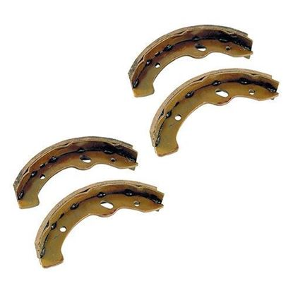 Picture of Brake Shoes, Set of 4, Yamaha G2-G22 94-06