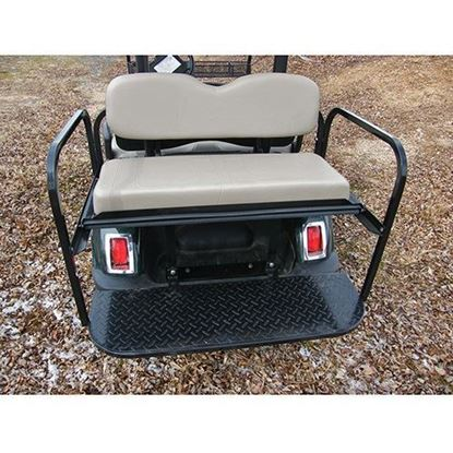 Picture of Rhino 700 Series Super Saver Yamaha G29/Drive Stone Cushions Steel Rear Flip Seat Kit