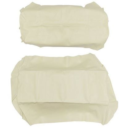 Picture of Cover Set, Ivory Vinyl, for Yamaha G14/G16/G19/G22 700 Series Rear Seats