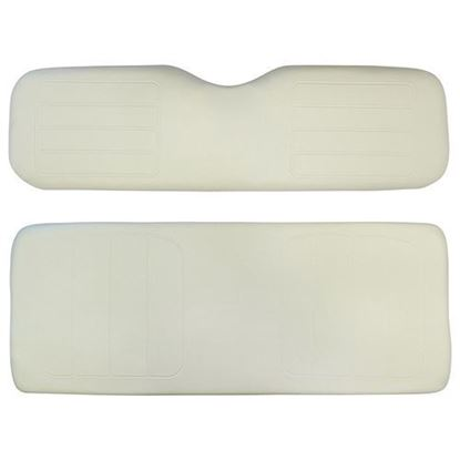 Picture of Cushion Set, Ivory Vinyl, Universal Board, for Yamaha G14/G16/G19/G22 600 Series Rear Seats