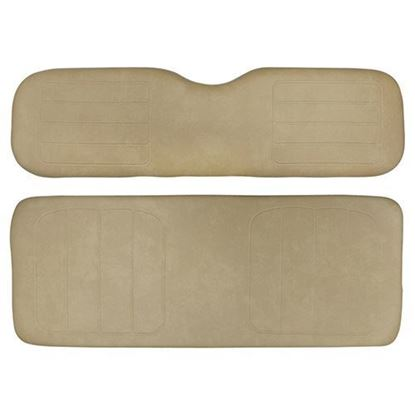 Picture of Cushion Set, Tan Vinyl, Universal Board, for Yamaha G14/G16/G19/G22 600 Series Rear Seats
