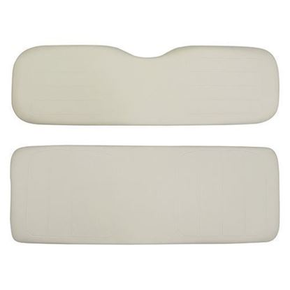 Picture of Cushion Set, Ivory Vinyl, Universal Board, for Yamaha G14/G16/G19/G22 700 & 800 Series Rear Seats