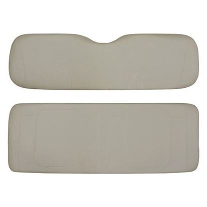Picture of Cushion Set, Stone Vinyl, Universal Board, for Yamaha G29/Drive 700 & 800 Series Rear Seats