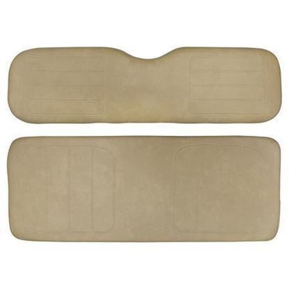 Picture of Cushion Set, Tan Vinyl, Universal Board, for Yamaha G14/G16/G19/G22 700 & 800 Series Rear Seats