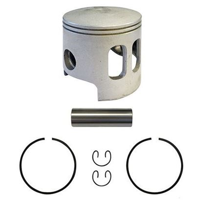 Picture of Piston and Ring Assembly, Standard Size, Yamaha G1 Gas