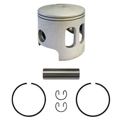 Picture of Piston and Ring Assembly, .25mm Oversized, Yamaha G1 Gas