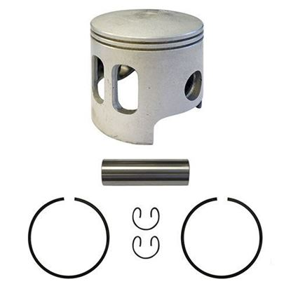 Picture of Piston and Ring Assembly, .50mm Oversized, Yamaha G1 Gas
