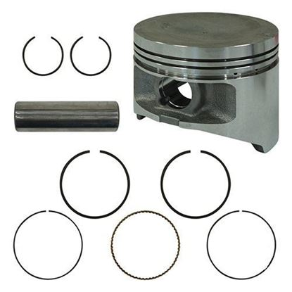 Picture of Piston and Ring Assembly, .50mm Oversize, Yamaha G22, G29 Gas 03+