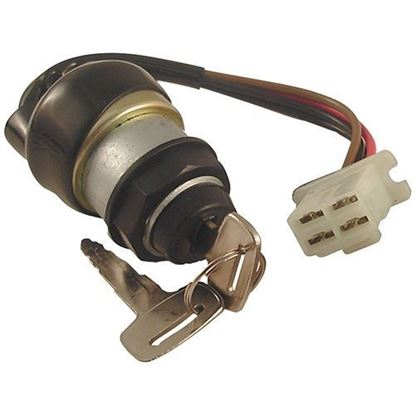 Picture of Key Switch, Yamaha G2/G8/G9/G11 4-cycle Gas & Electric 1985-1995