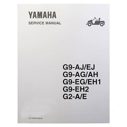 Picture of Service Manual, Yamaha G2/G9 1988-1994