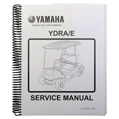 Picture of Service Manual, Yamaha Drive 2007-2010
