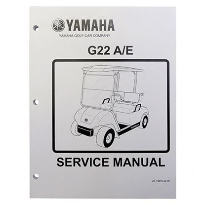 Picture of Service Manual, Yamaha G22 2003-2006