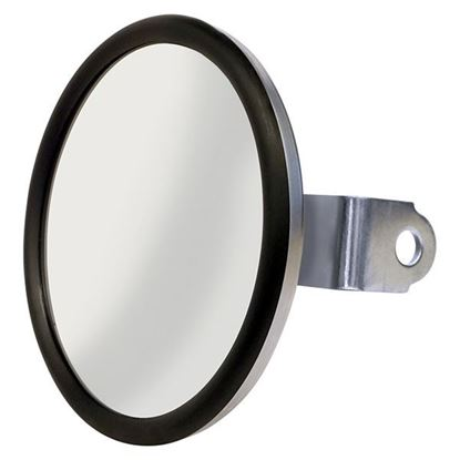 Picture of Mirror, Convex Side Mount Rear View, Stainless Steel