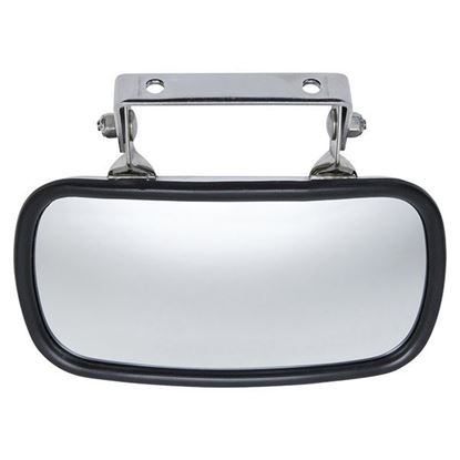 Picture of Universal 180 Degree Convex Roof Mount Mirror, Stainless