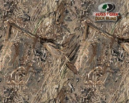 Picture of Golf Car Body Wrap Camouflage Decal Kit - Mossy Oak Duckblind