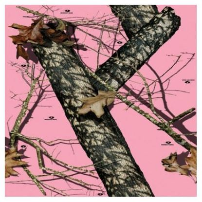 Picture of Golf Car Body Wrap Camouflage Decal Kit - Mossy Oak Breakup Pink